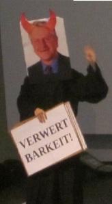 Erstiaktion an der Uni Heidelberg 10.10.2011